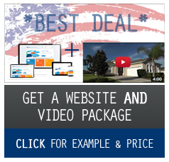 florida villa website and video package